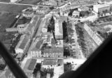 Aerial view of housing in central Italy, Spring 1944