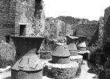 Untitled - liquid vessels, Pompeii, Spring 1944