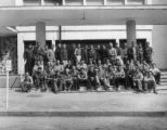 Group portrait, Italian civilian employees of the 15th Medical General Laboratory