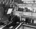 A corner of the film processing room, Medical Museum and Arts Service, Naples, 1944 / 1945