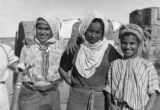 Three Berber girls near Casablanca, 1943