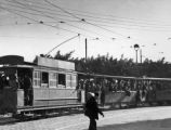 Streetcars in Algiers, 1943