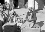 [Untitled - a shoemaker in the Medina, Rabat, Morocco, September 1943]