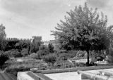 Gardens inside the Sultan's palace, Rabat, September 1943