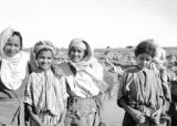Smiling Berber girls, near Casablanca, September 1943