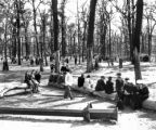 Park, Brunswickhaven, Germany, May 1945