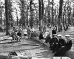 Park, Brunswickhaven, late May 1945