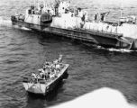 Landing craft / casualty transport, Southern France, August 1944