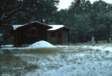 Snowfall, Bandera, home of Virginia, 1982