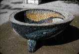 Garden Piece, Concrete and Mosaic, O. Medellin