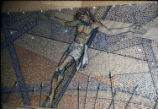 St. Bernard Mosaic, 12 Station, Tessera on Paper, Dallas, Tx., O. Medellin