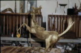 ''Golden Stallion'', Copper and Brass, 36 [inches] x 40 [inches], Mr. and Mrs. L. McDonald,...