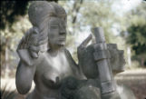 ''Spirit of the Revolution'', Direct Carving Limestone, 34 [inches] x 16 [inches] x 20 [inches],...