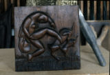''Relief'', Wood, 1922, Medellin, My first carving