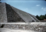 Main Temple, Ruins of Tenayuca, Mexico