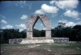 Entrance to the city of Kabah, Yucatan, Mex.