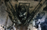 Ceiling of Old Church, Ruins of Antigua, Guatemala
