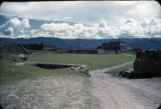 Central Plaza, Monte Alban, Oax.