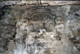Detail of Wall Mask in Stucco, Central Palace, Mayan, Palenque, Chaip.