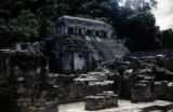 Terace, Central Temple, Palenque, Temple of Inscrip. in Distance