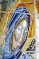 ''Our Lady of the Throne of Wisdom'' Detail, Catholic Student Center, Austin, Tex., 1965