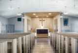 Sanctuary, St. Henry's Catholic Church, Freeport, Tex., 1952