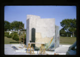 ''Garden of the Glorious Mysteries'', application of mosaic, Calvary Hill Cemetery, Dallas,...