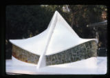 ''The Trinity'', plaster scale model, proposed glass, Capilla del Colegio, Mex., S.L.P., Mex., 1966