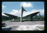 ''The Trinity'', concrete chapel, proposed glass, Capilla del Colegio, Mex., S.L.P., Mexico, 1966