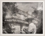 [Man Standing near the Temple of the Nuns, Chichen Itza]