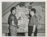 [Octavio Medellin and Michael Kostavsky, 8th Station, Tesserae on Paper, Stations of the Cross...