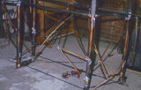 ''Altar'' 7 [feet] x 39 [inches] Constr. Copper Tubing and Bronze