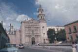 Catholic church, old colonial. San Luis Potosi, Mex.