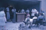 Glass seminar. Lamp work demonstration. Toledo, Ohio. 1962