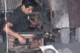 Glass blowers. Monterrey, N.L., Mex. 1966
