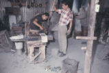 Glass blowers. Monterrey, N.L., Mexico. 1966