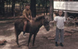 Brett, Ronda, and Cinnamon, Daingerfield, Tex., 1970