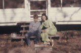 Randy and Patsy in Daingerfield, Tex. home, 1972