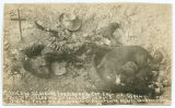 One of F. Villa's men killed in battle, Nov. 2, 1915.