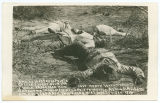 2 miles west Agua Prieta battle faught [sic] Nov 2, 1915, F. Villa 18,000 men and Carranza 12,000...