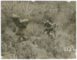 U.S. Soldiers Chasing A Mexican