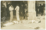 Killed in front of Hotel Diligencias