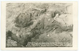 One of F. Villas [sic] soldiers killed in battle Nov 2, 1915 one mile south of Agua Prieta, Mexico...