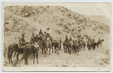 Detachment of U.S. Cavalry, Scouting for Pancho Villa.