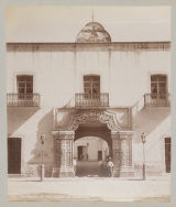 Entrance to the Palace at Tlaxcala.