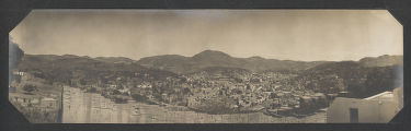 [Panorama of Mexican Village]
