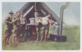 [Six Soldiers Around Cook Tent]