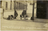 Federal Mexican firing line corner - calle Independencia at Hotel Diligencias, first day Apr. 21