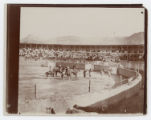 [Matadors and Picadors in Bullfighting Ring]