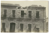[Damaged building during the Mexican Revolution]